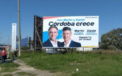 Publicidad exterior, la gran aliada de las campañas electorales