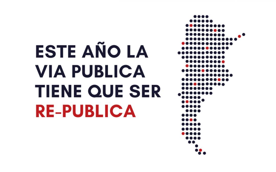El país nos mira: Este año la Vía Pública tiene que ser RE-Pública